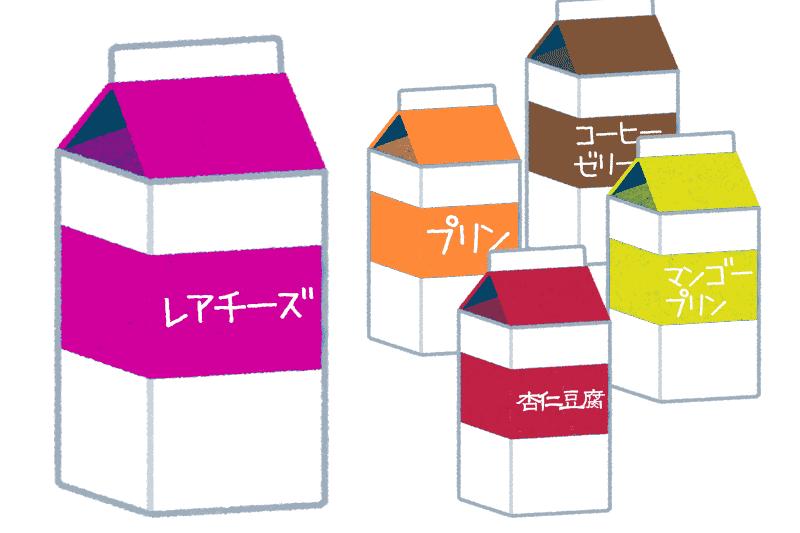 業務スーパーの紙パックスイーツおすすめアレンジレシピ