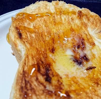 業務スーパー天然酵母パンのハニートースト