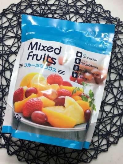 お得感のある業務スーパーの冷凍フルーツミックス