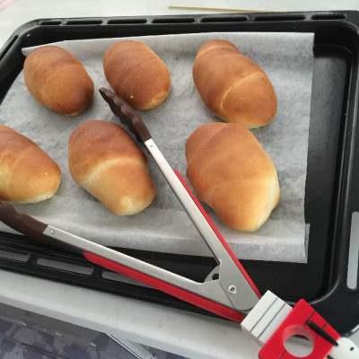 業務スーパーのマーガリンで焼いたパン