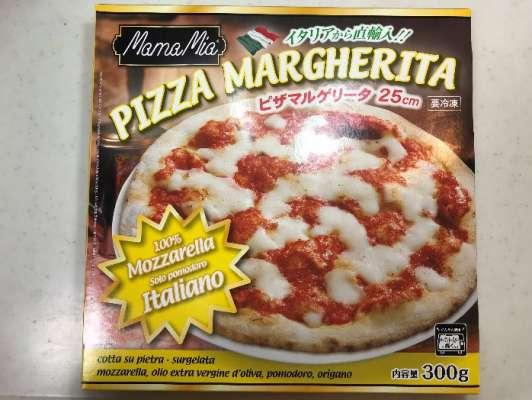 業務スーパーのピザマルゲリータ