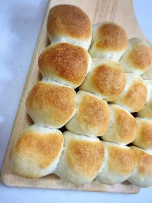 スイートポテトのちぎりパン
