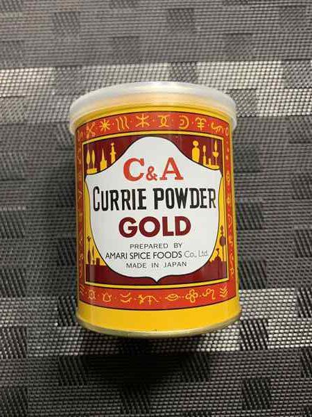 業務スーパーのカレー粉缶