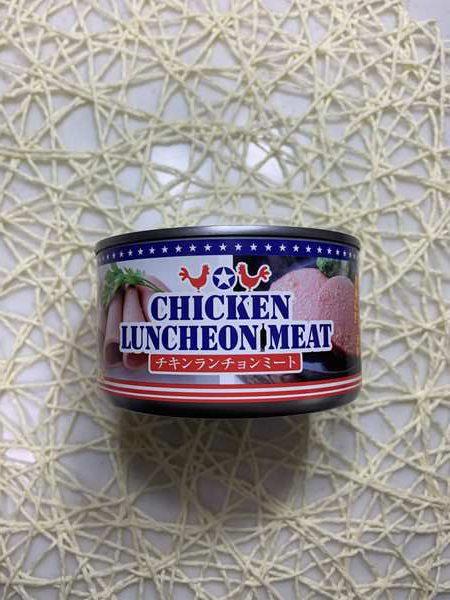業務スーパーのチキンランチョンミート缶