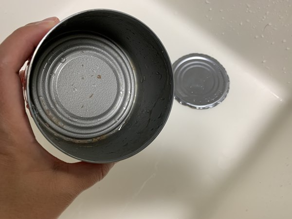 業務スーパーのチキンランチョンミート空き缶