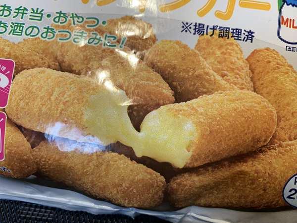 業務スーパーのチーズフィンガーパッケージ写真