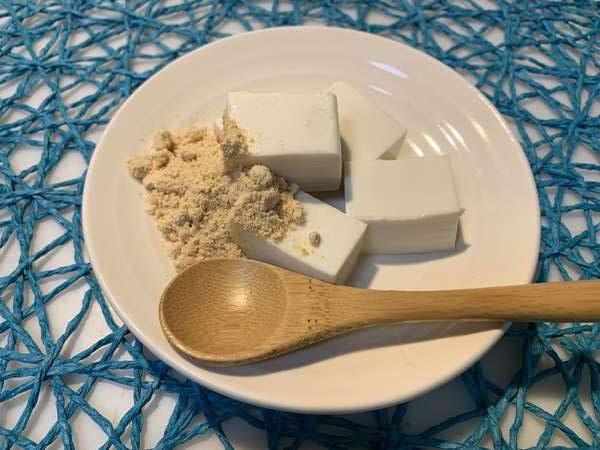 業務スーパーのきな粉と豆腐を使ったスイーツ