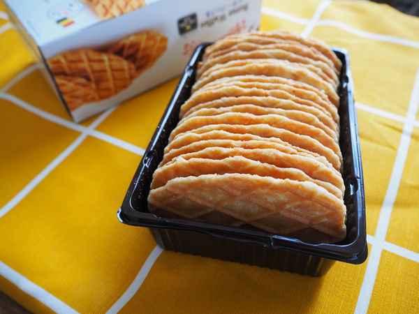業務スーパーのベルギー産バターワッフル