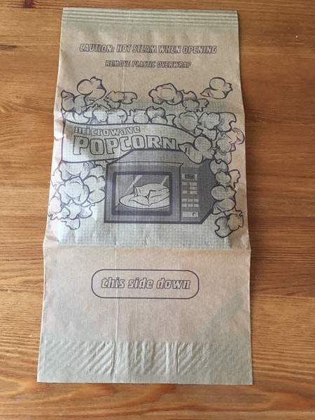 業務スーパーのポップコーン紙パックにある英語表記2