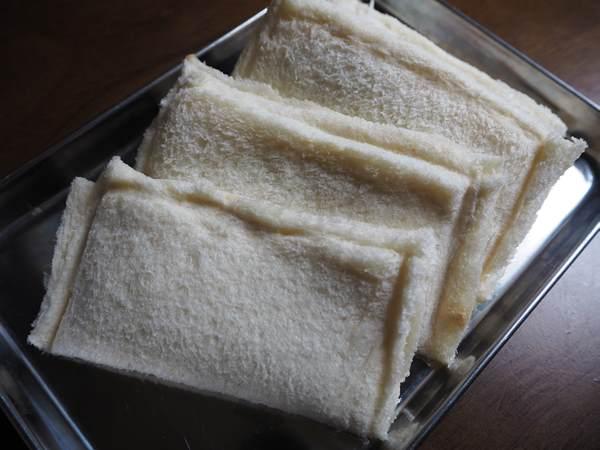 揚げる前の手作りカレーパン
