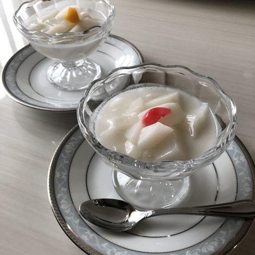 ココナッツミルク杏仁