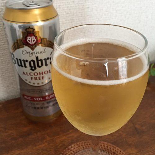 アップルビネガーを入れた業務スーパーのノンアルコールビール