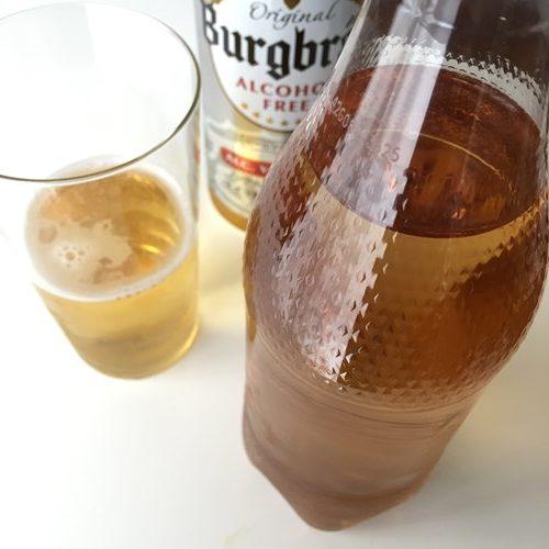ジンジャーエールと業務スーパーのノンアルコールビール