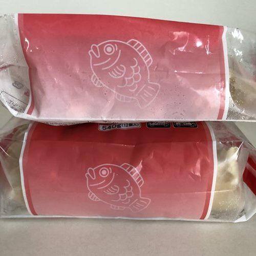 業務スーパーたい焼きパッケージに描かれている鯛のイラスト