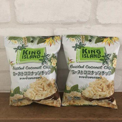 業務スーパーのココナッツチップス2袋