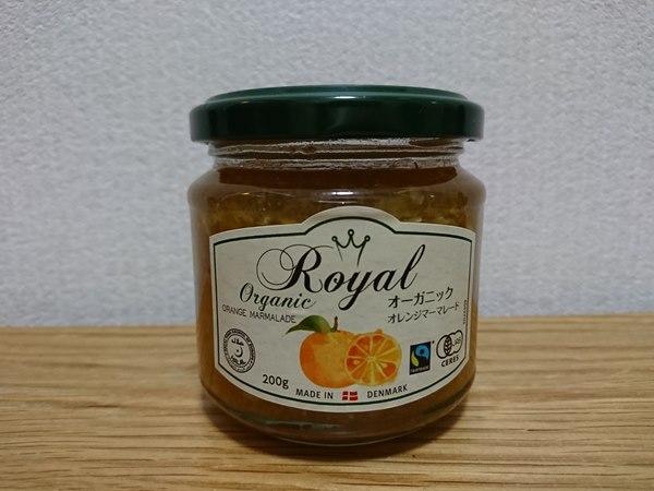 業務スーパーのオーガニックオレンジマーマレード