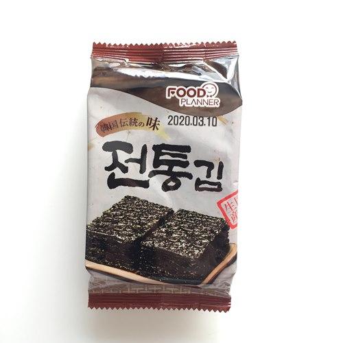 業務スーパーの韓国のり1袋