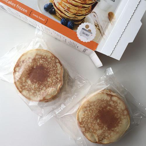 箱から出した業務スーパーのパンケーキパック