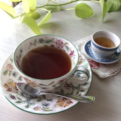 業務スーパーのゆず茶で作るロシアンティー
