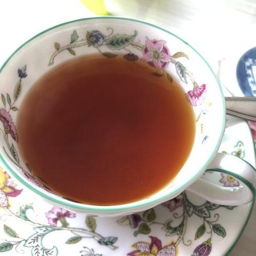 業務スーパーゆず茶を入れた紅茶