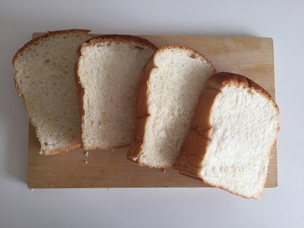 食べやすい大きさに切った残りの業務スーパーイギリスパン