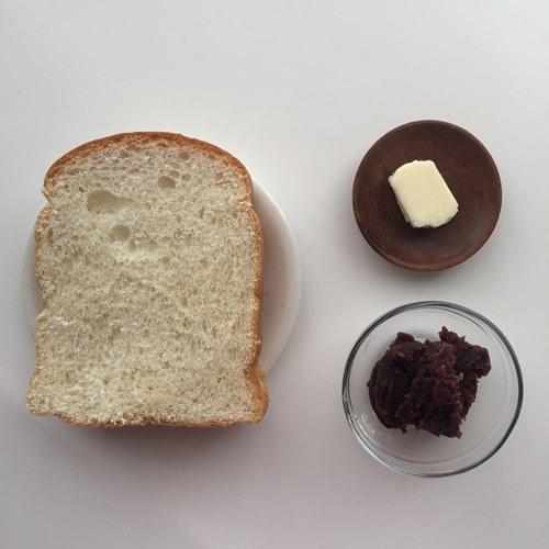 業務スーパーのイギリスパン・あん・バター