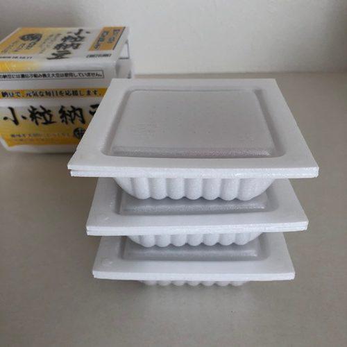 業務スーパーの納豆3パック