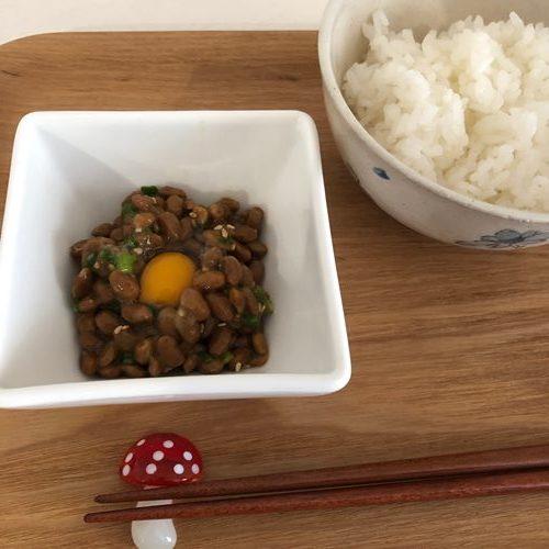 ご飯と業務スーパーの納豆