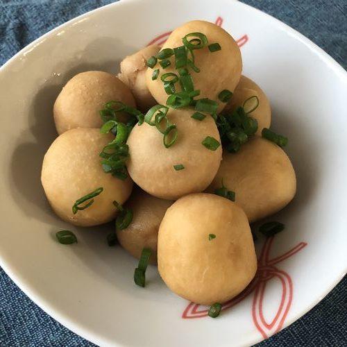 業務スーパーの里芋で作った煮物