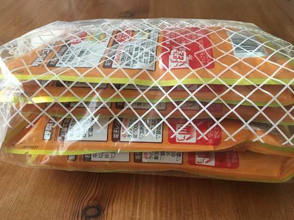 5袋が1セットになった業務スーパーの野菜がゴロゴロカレー