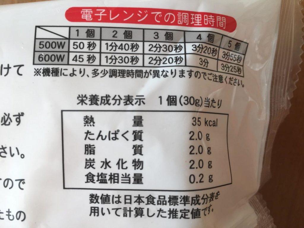 オムレツの栄養成分