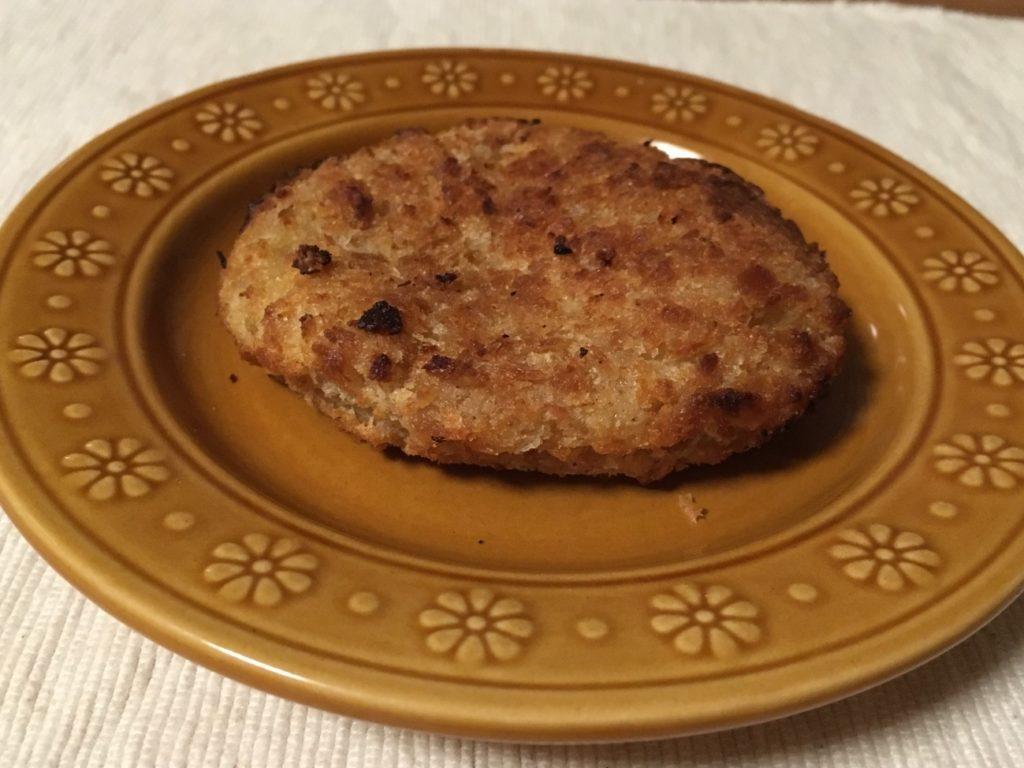 オーブンで揚げ焼いたミートコロッケ