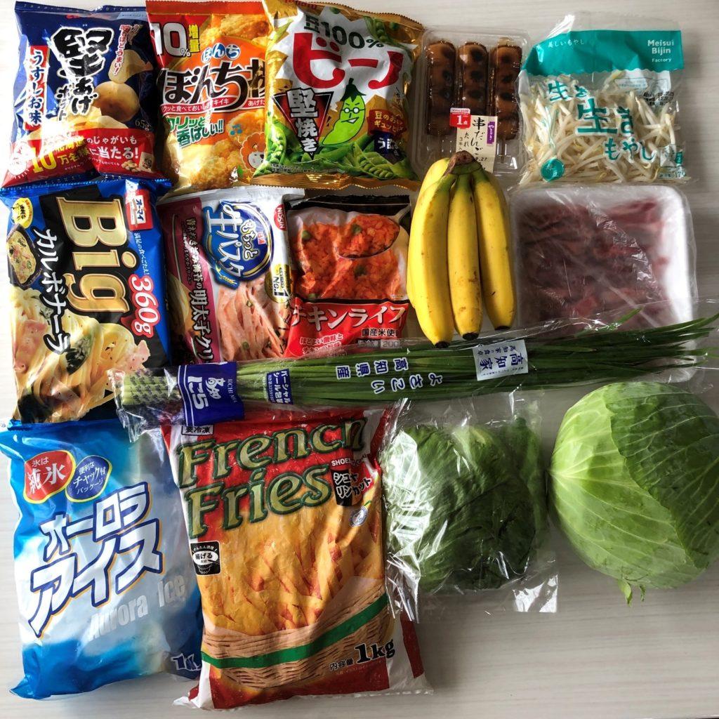 業務スーパーのエコバッグに5kg以下で入る商品の量